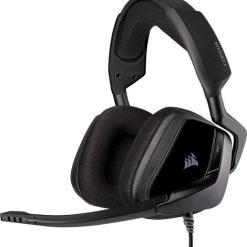 41smzBXTtZL - Corsair VOID ELITE RGB Surround Gaming Headset (7.1 Surround Sound, Optimised Omnidirection Microphone, Customisable RGB Lighting with PC, PS4, Xbox One, Switch and Mobile Compatibility) - Black