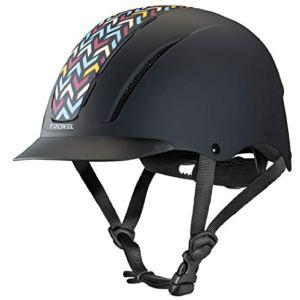 Troxel Spirit Insignia Horse Western Riding Helmet Low Profile Adjustable