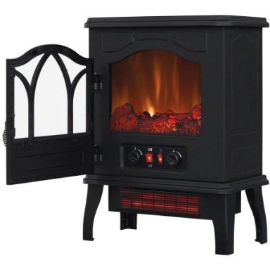ChimneyFree Electric Infrared Quartz Stove Heater review