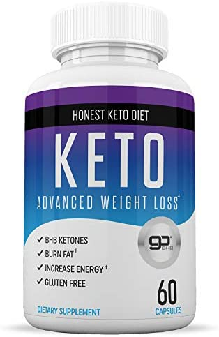 Honest Keto Diet Pills for Weight Loss - Helps Block Carbohydrates - Weight Loss Supplement for Women & Men - Burn Fat Instead of Carbs - BHB Salts - 60 Capsules 3