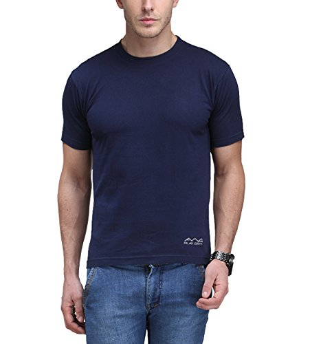 AWG - All Weather Gear Men's Polyester Dry Fit Round Neck T-Shirt - Pack of 4 4