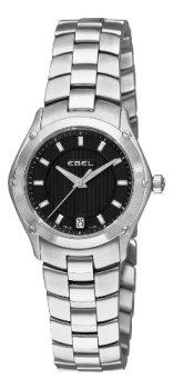 Ebel Women's 9953Q21/153450 Classic Sport Black Dial Watch