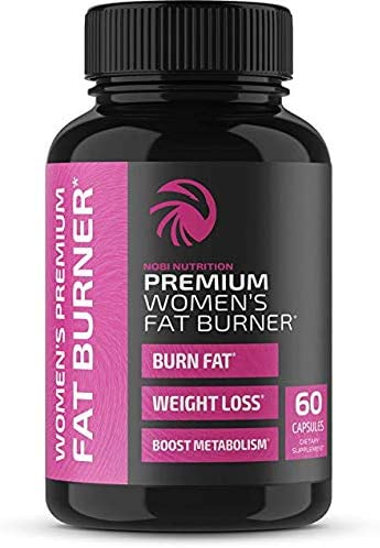 Nobi Nutrition Premium Vegan Fat Burner for Women - Weight Loss Supplement, Appetite Suppressant and Metabolism Booster - Thermogenic Diet Pills for Women - 60 Capsules 3