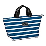 SCOUT NOONER Insulated Lunch Bag for Women, Water-Resistant Soft Cooler Lunch Tote with Zipper Closure