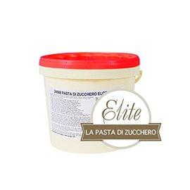 pasta di zucchero elite bianca modecor per copertura cake design confezione 5 kg