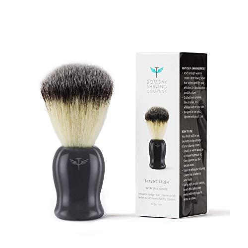 Bombay Shaving Company Imitation Badger Shaving Brush, Cruelty-Free Bristles 13