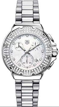 TAG Heuer Women's CAC1310.BA0852 Formula 1 Diamond Accented Chronograph Watch