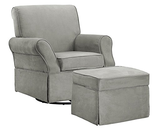 Baby Relax The Kelcie Nursery Swivel Glider Chair...