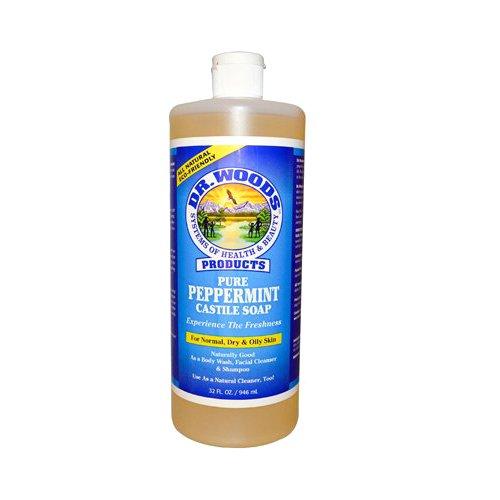 Dr Woods Peppermint Castile Soap