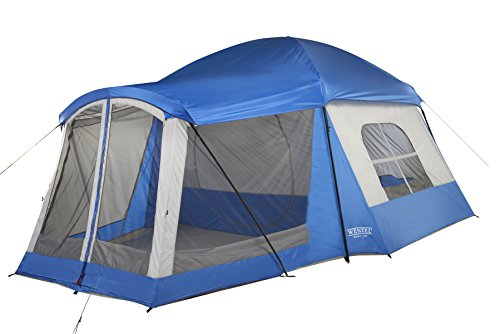 Wenzel 8 Person Klondike Tent, Blue