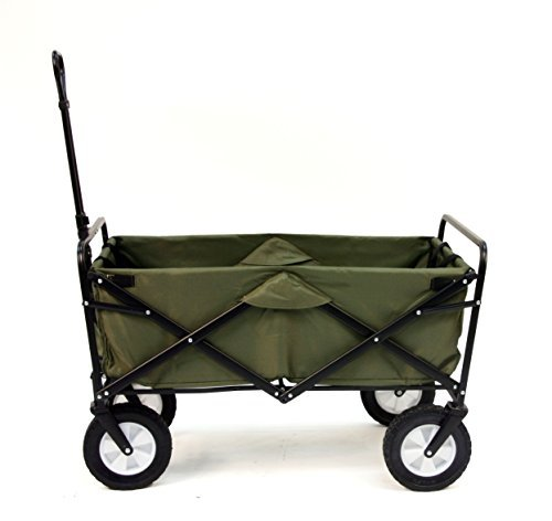 Mac Sports Folding Green Wagon
