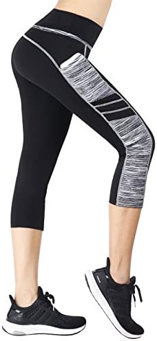 Sugar Pocket Women's Workout Leggings Running Tights Yoga Pants 3