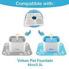 Veken-Replacement-Filters-for-84oz25L-Automatic-Pet-Fountain-Cat-Water-Fountain-Dog-Water-Dispenser-Pack-of-4