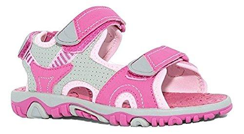 Khombu Girls River Sandal Pink / Grey Size 3 M US