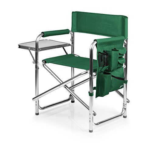 ONIVA - a Picnic Time brand Portable Folding Sports Chair, Hunter Green