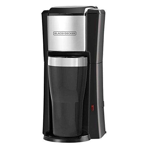 BLACK + DECKER CM618 Single Serve Coffee Maker, Black