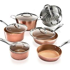 Nonstick-Copper-cookware set