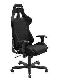 DXRacer Formula Series DOH/FD01/N Newedge Edition Racing Bucket Seat Office Chair Gaming Chair Ergonomic Computer Chair eSports Desk Chair Executive Chair Furniture With Pillows (Black)