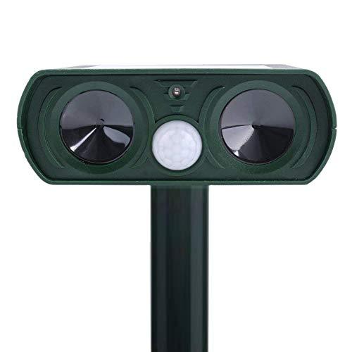 Ultrasonic Outdoor Animal and Pest Repeller Infrared Drive – Solar Power Garden Lawn Park Protector – Electronic Bird Cat Dog Snake Wild Boar Rabbit Repeller - LOVIN