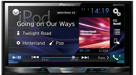Pioneer AVH-X490BS Double Din Bluetooth...