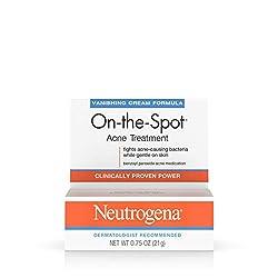 Neutrogena On-The-Spot Acne Spot Treatment with 2.5% Benzoyl Peroxide Acne Treatment Medicine to Treat Face Acne, Gentle Benzoyl Peroxide Pimple Gel for Acne Prone Skin, .75 oz Image ingrown hair
