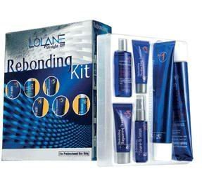 Hair Rebonding straightening / straightener cream KIT - Straight OFF