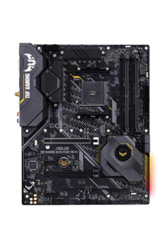 Asus-AM4-TUF-Gaming-X570-Plus-Wi-Fi-ATX-motherboard-with-PCIe-40-dual-M2-122-with-Dr-MOS-power-stage-HDMI-DP-SATA-6Gbs-USB-32-Gen-2-and-Aura-Sync-RGB-lighting