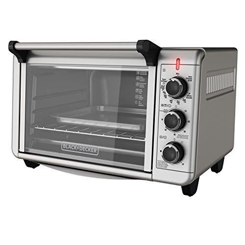BlackDecker-TO3210SSD-6-Slice-Convection-Countertop-Toaster-Oven-Silver