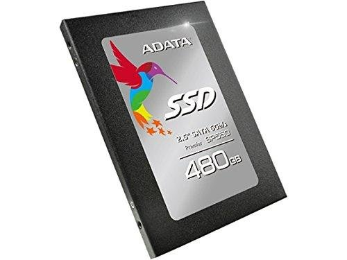 ADATA Premier SP550 480GB 2.5 Inch SATA III Solid State Drive (ASP550SS3-480GM-C)