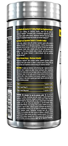 Hydroxycut Hardcore Weight Loss and Energy Supplement, Delivers Extreme Energy & Maximum Intensity, 60 Count 5
