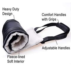 LOOBANI-Portable-Dog-Sling-for-Back-Legs-Hip-Support-Harness-to-Help-Lift-Dogs-Rear-for-Canine-Aid-and-Old-K9-Cruciate-Ligament-Rehabilitation