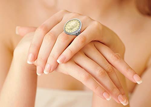 MiaBella Italian Coin Ring