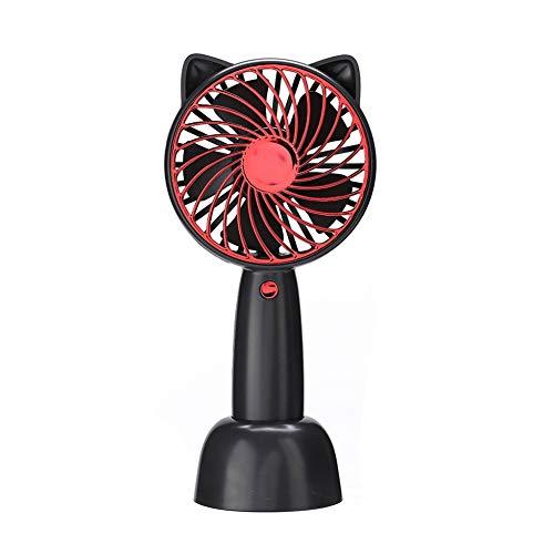 Handheld Table Fan Personal USB Fan Rechargeable Portable USB Powered Cooling Fan Handheld Mini Fan