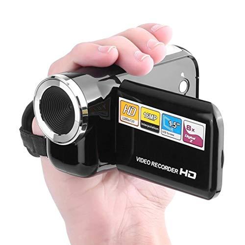 alisena Portable Rotatable 2.0 LCD Display Screen Mini Digital Video Camera