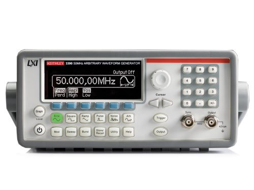 Keithley 3390 Arbitrary Waveform/ Function Generator, 50 MHz