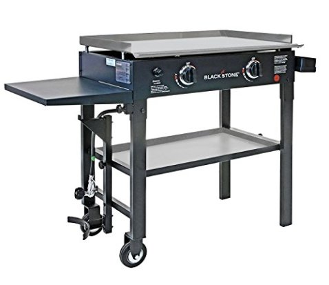 Stanbroil-28-Inches-Stainless-Steel-Flat-Top-Gas-Grill-Griddle-for-Blackstone-2-Burner-Propane-Fueled-Grill