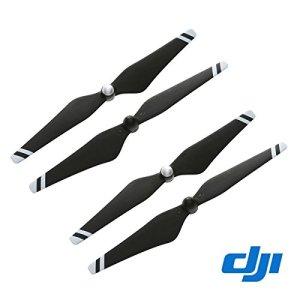 (Black and white) – DJI Original 23cm CW+CCW Props Carbon Fibre Reinforced 9450 Self-tightening Propeller 4 Pcs for Phantom 3 Professional / Advanced / Standard Quadcopter / E310 – Black + White Stripe 41uX0JeyyfL