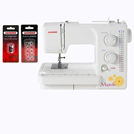 Janome Magnolia 7318 Sewing Machine with Package