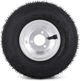 VEVOR-Tires-and-Rims-Go-Kart-58-mm-Bolt-Pattern-Go-Cart-Wheels-and-Tires-10x-450-Front-11x-60-Rear-HUB-3-hole-Sets-of-4