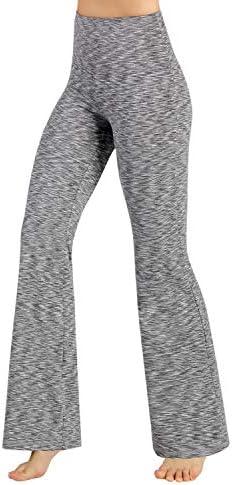 ODODOS Women's Boot-Cut Yoga Pants Tummy Control Workout Non See-Through Bootleg Yoga Pants 1