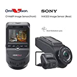 Lifechaser Dual Dash Cam Car Camera 4K UHD WiFi GPS Night Vision 170° with Front and Rear Camera 1080P+1080P, Super Capacitor, HDR, Time Lapse, G-Sensor, Loop Recording for Cars, Trucks
