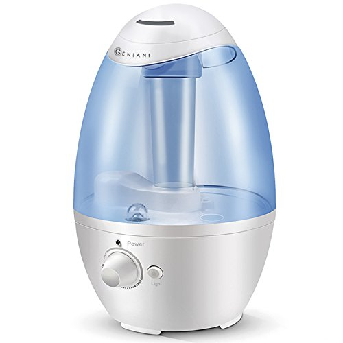 Ultrasonic cool mist humidifier best air humidifiers for for Living room humidifier
