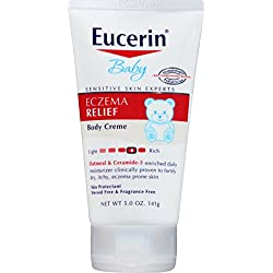 Eucerin Baby Eczema Relief Body Creme 5.0 Ounce