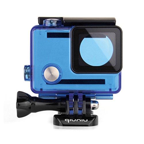 Waterproof Dive Housing Case for GoPro Hero 4, GoPro Hero 3 and GoPro Hero 3+ Action Camera – Up to 40 Meters (131 feet) Underwater