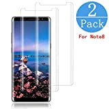 (2 - Pack) Samsung Galaxy Note 8 Screen Protector,LuettBiden[HD Clear][Anti-Bubble][9H Hardness][Anti-Scratch][Anti-Fingerprint] Tempered Glass Screen Protector for Note 8