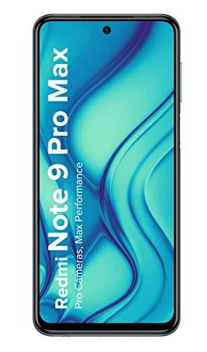 Redmi Note 9 Pro Max (Interstellar Black, 6GB RAM, 64GB Storage) – 64MP Quad Camera & Alexa Hands-Free