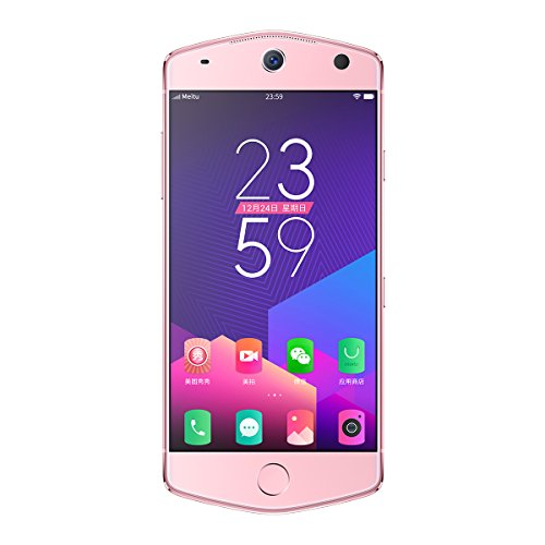 "Meitu M8 5.2"" Selfie Beauty SmartPhone with MP1603 64GB 21MP Rear Front Camera 4G LTE Unlocked, Pink"