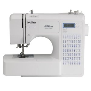 Brother Sewing and Quilting Machine, CE7070PRW, Project Runway, 70 Built-in Stitches, LCD Display, Wide Table, 7 Included Sewing Feet