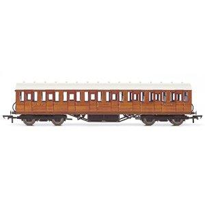 Hornby R4573A LNER Thompson Non-Corridor 3rd Class Coach, Teak 41v28uGxv5L