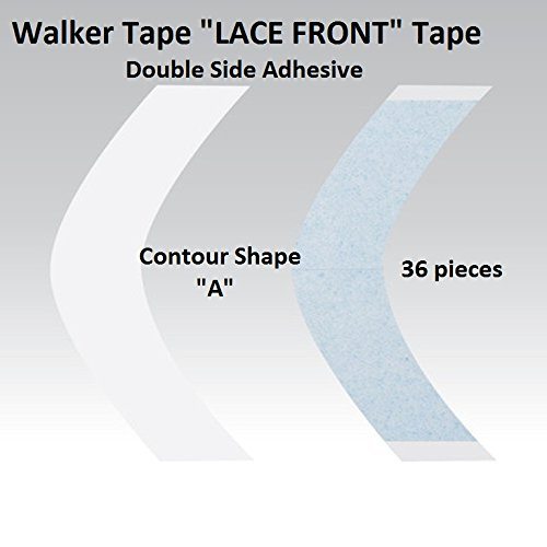 Blue Liner Lace Wigs and Hairpieces Tape (Shape A)